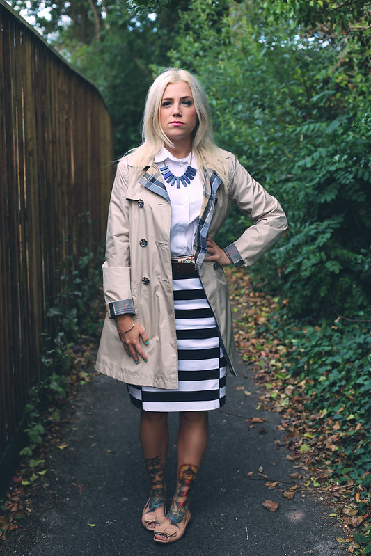 Barbour Trench/Mac Outfit Post