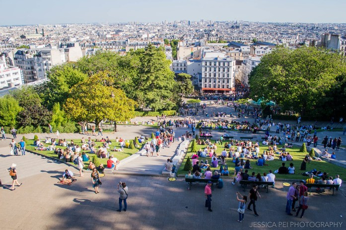 Sacré-Cœur Basilica Steps Montmartre