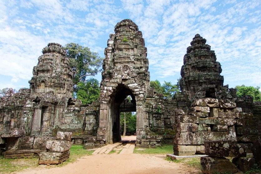 The entrance gate to Preah Khan.