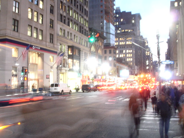 The Over Achievers, Blured Manhatten Busyness