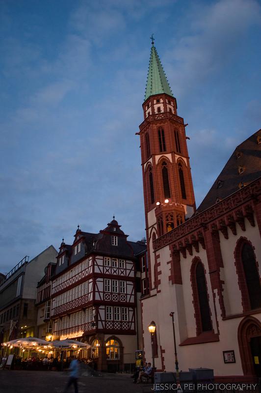 Alte Nikolaikirche Church Römerberg Square Frankfurt Germany