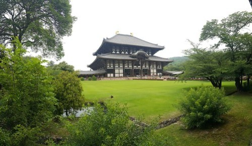 ตัวอุโบสถของวัด ที่ประดิษฐานของพระใหญ่ ไดบุทสึ ต้องเสียค่าเข้า 600 เยน