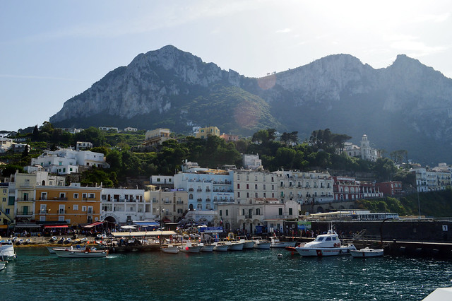 Capri from afar