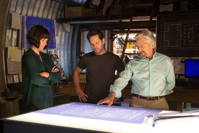 Ant-Man-official-still-Evangeline-Lilly-Paul-Rudd-Michael-Douglas