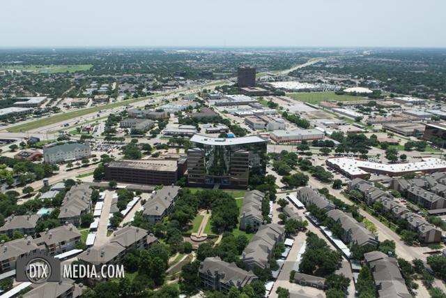 North Dallas aerial Photography