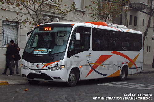 VTS Enjoy Travel - Santiago - Marcopolo Senior / Mercedes Benz (CKRB24)