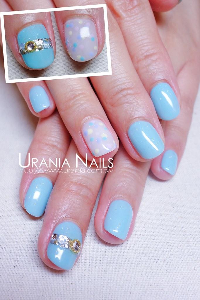 ♥ 夏日海洋風!凝膠指甲的清涼穿搭 3