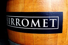 Sirromet wine barrel