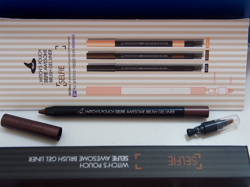 Witch's Pouch Selfie Awesome Brush Gel Liner review
