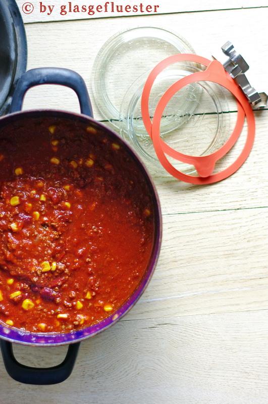 Chilli Con Carne eingekocht by Glasgeflüster 1 klein