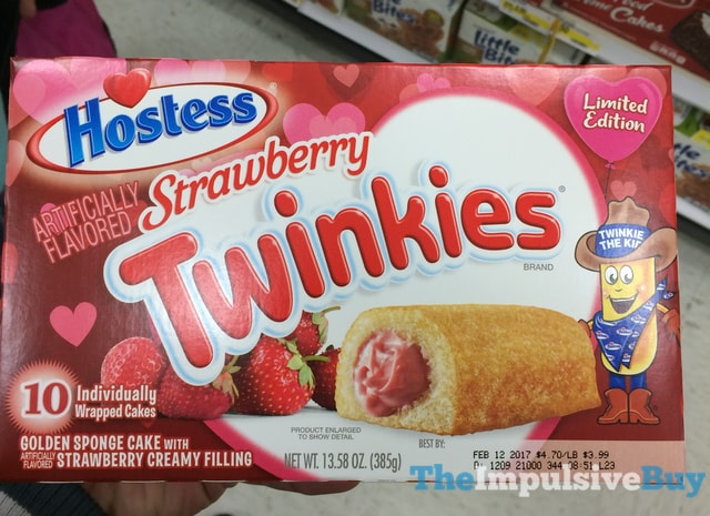 Hostess Limited Edition Strawberry Twinkies