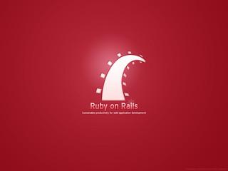 Ruby on Rails Wallpaper