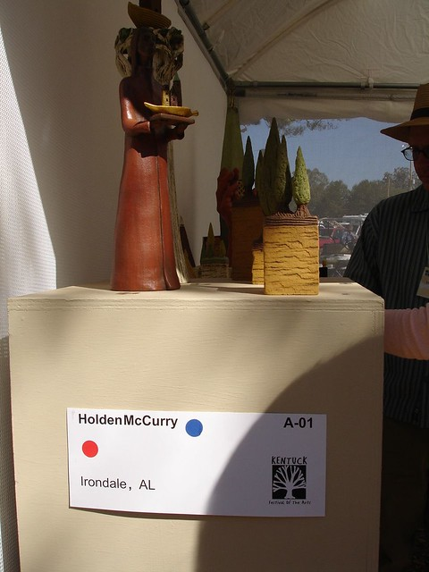 Holden McCurry's Tower Sculptures, Kentuck Festival of the Arts, Northport AL