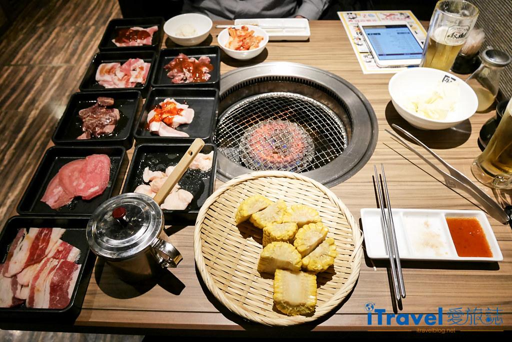 京都美食餐厅 牛角烧肉吃到饱 (1)