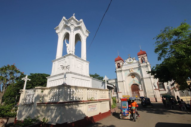 Christ the King Statue & Church of St. Catherine of Alexandria