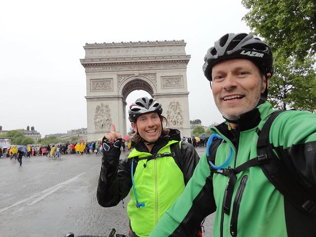 Arc de Triomphe at last!