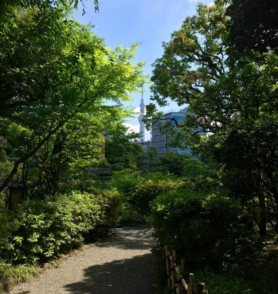 Entrance of Yasuda Garden