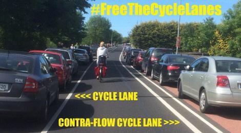 #FreeTheCycleLane
