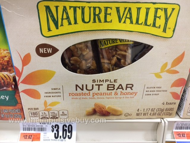 Nature Valley Roasted Peanut & Honey Simple Nut Bar