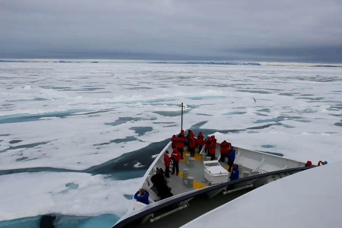 Ice Cruising in the Arctic