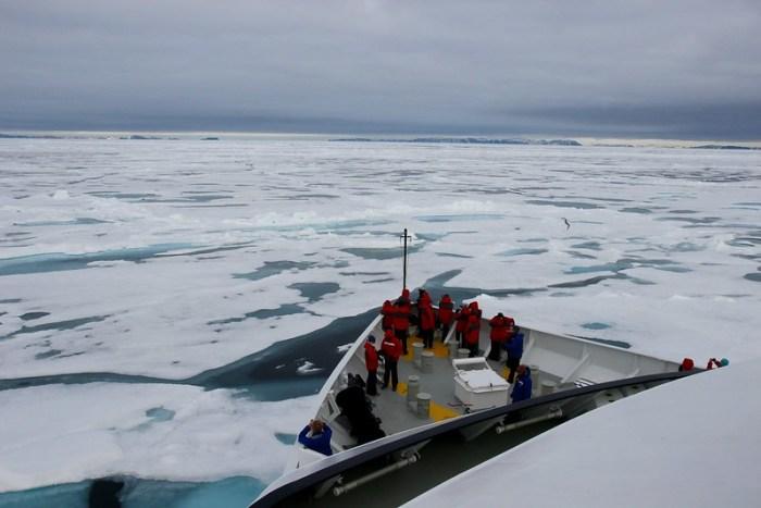 Ice Cruising in the Arctic