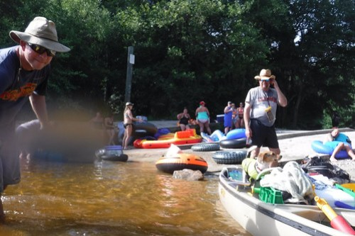 Edisto River Beer Commercial and Rope Swing Float-149