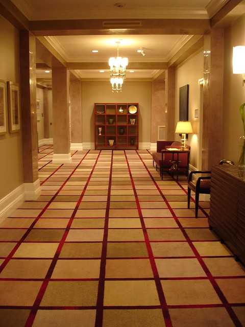 Hallway at the Alluvian Hotel, Greenwood MS