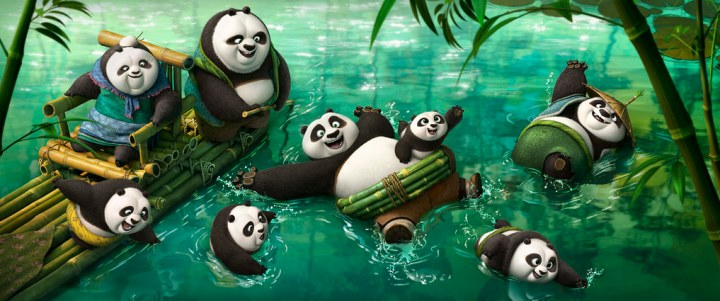 Can all of these pandas become kung fu pugilists? Credit: Dreamworks Animation