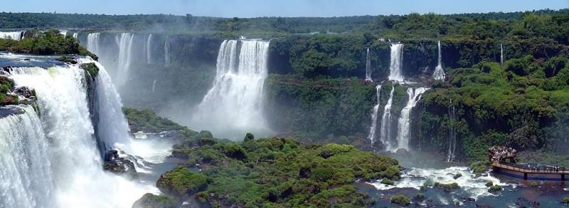Imagen gratis de las cataratas de Iguazú