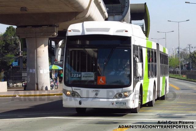 Transantiago - Subus Chile - Caio Mondego LA / Volvo (WC2763)