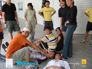 16062003 - FOC.Official.Camp.2003.Dae.1 - Persianz.Playin.IceBreakers - Pic 8