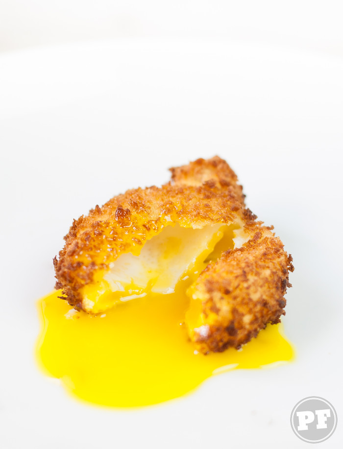 Gema Empanada Frita | Deep Fried Yolk