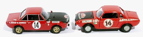 11 DeA & Mercury Lancia fulvia HF