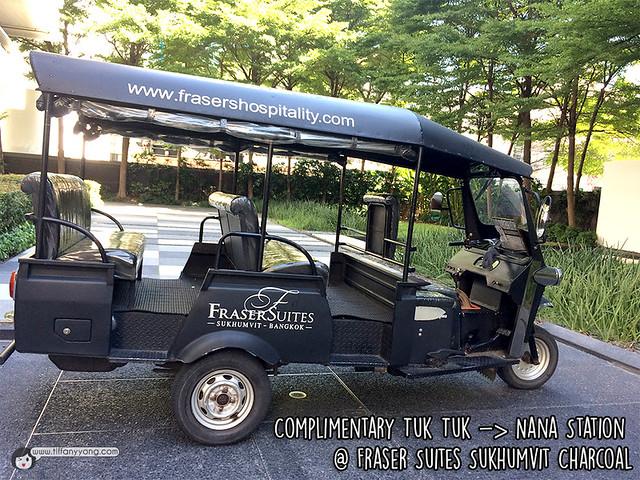 Fraser Suites Sukhumvit Tuktuk service