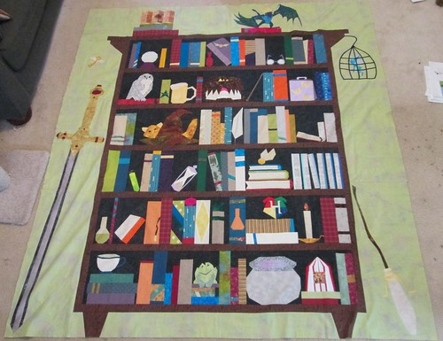 Harry Potter and the Bookshelf of Doom