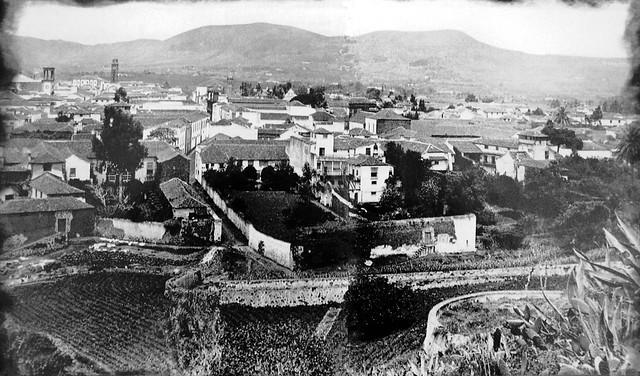 La Laguna desde San Roque Tenerife 1902