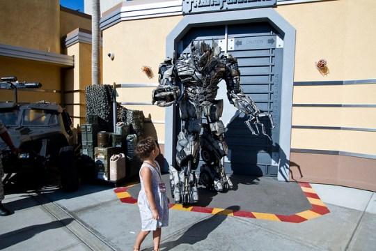 Meeting a Transformer
