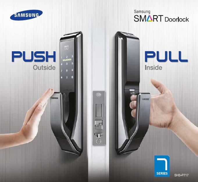 รีวิวกลอนประตูอัจฉริยะ Samsung SMART Doorlock SHS-P717