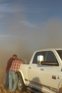 The dust is so fine around here!
