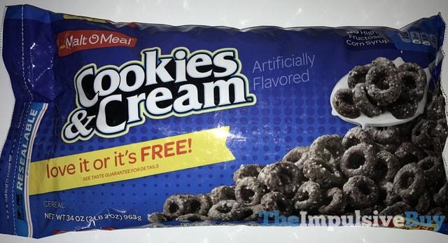 Malt-O-Meal Cookies & Cream Cereal