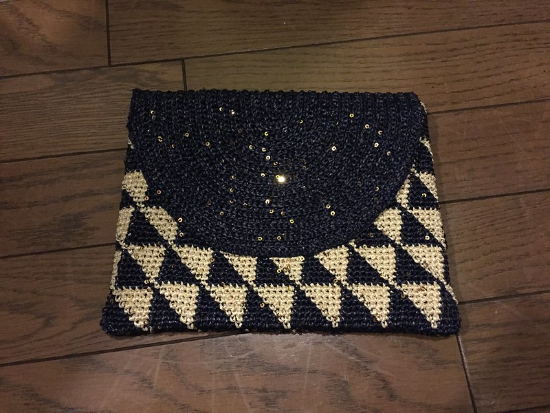 Triangle Clutch bag - Finished…?