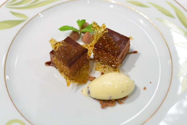 Ilanka Chocolate and Nutella Fondant
