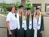 UH Manoa track and field graduates celebrated at the fall 2016 commencement ceremony on December 17 at the Stan Sheriff Center.