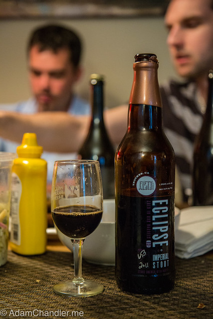 FiftyFifty Imperial Eclipse Stout - Brewmaster's Grand Cru Blend 2011