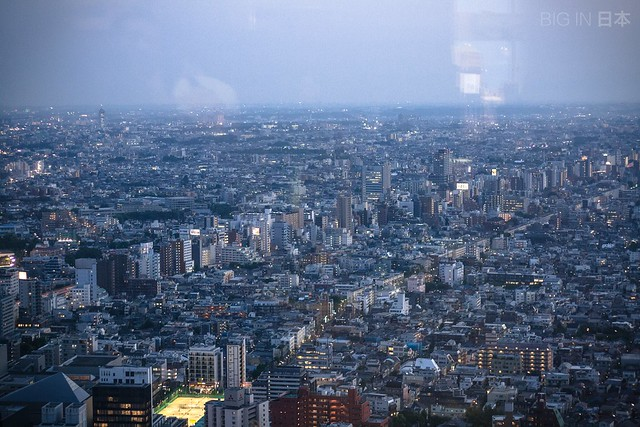 Views from Tokyo City Hall (Tocho)