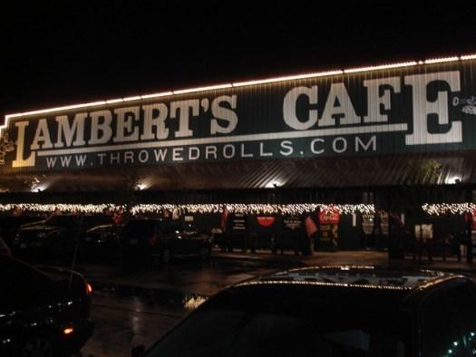 Lambert's Cafe, Foley AL