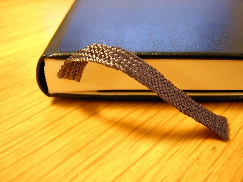 Moleskine bookmark