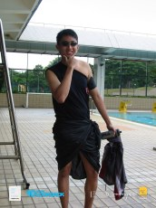 06062003 - FOC.Trial.Camp.0304.Dae.2 - Dress.Up.Competition.At.Pool.. Ivan Wif His Macho Looks..