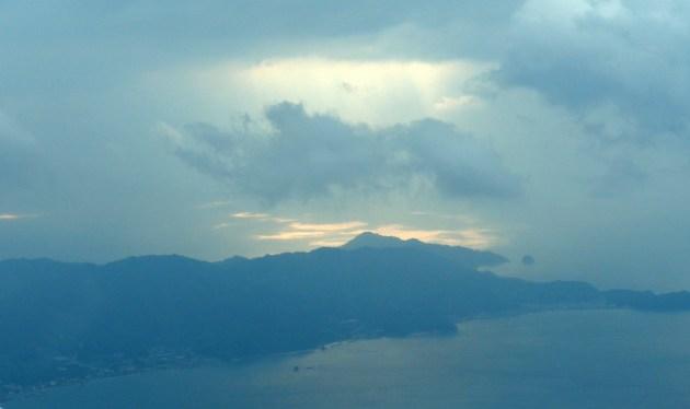 JAL機から見る