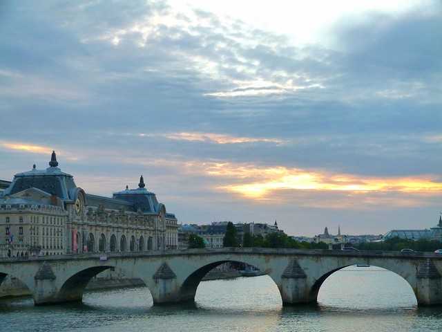 La Seine Crepuscule